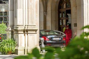 Schlosshotel Kronberg Entrance